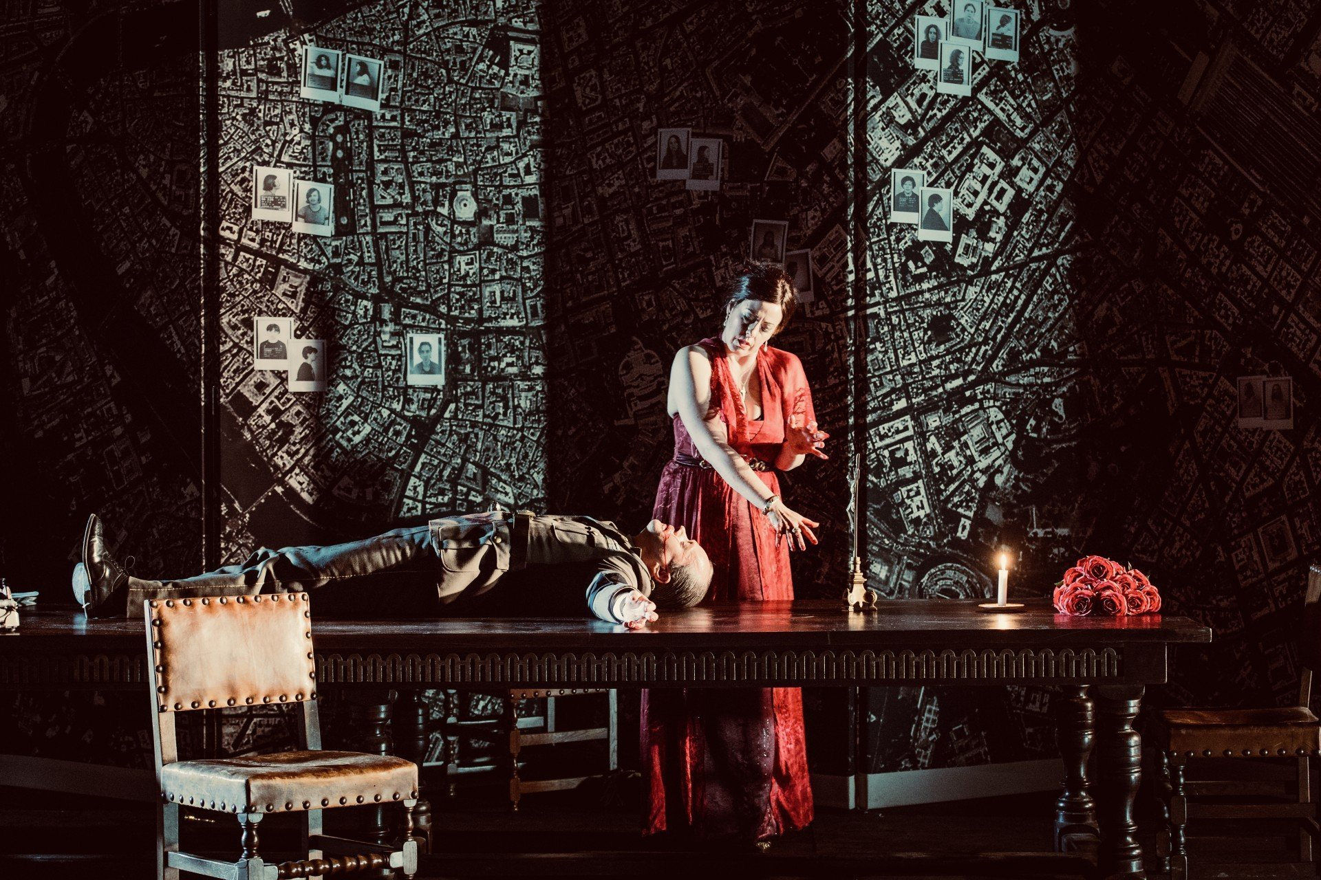 Simon Lima Holdsworth Tosca (set and costumes)